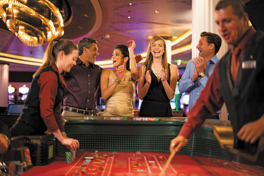 Enjoying the casino on a cruise www.cruisescapes.ie