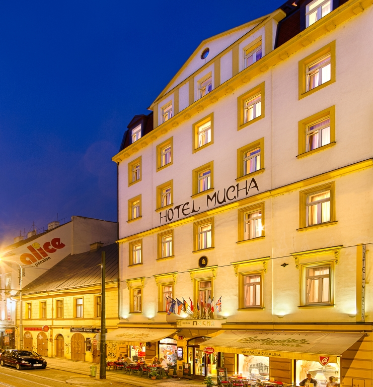 Hotel Mucha in Prague Insiders Guided Tour