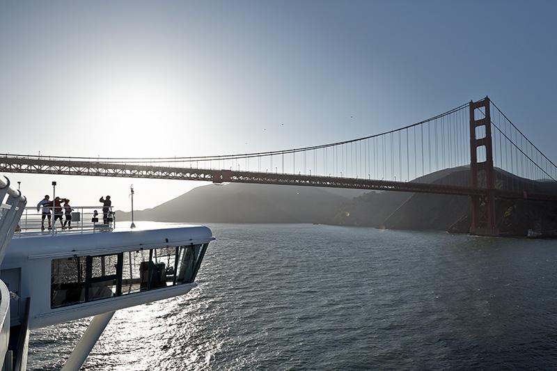 Cruise under the Golden Gate Bridge www.cruisescapes.ie
