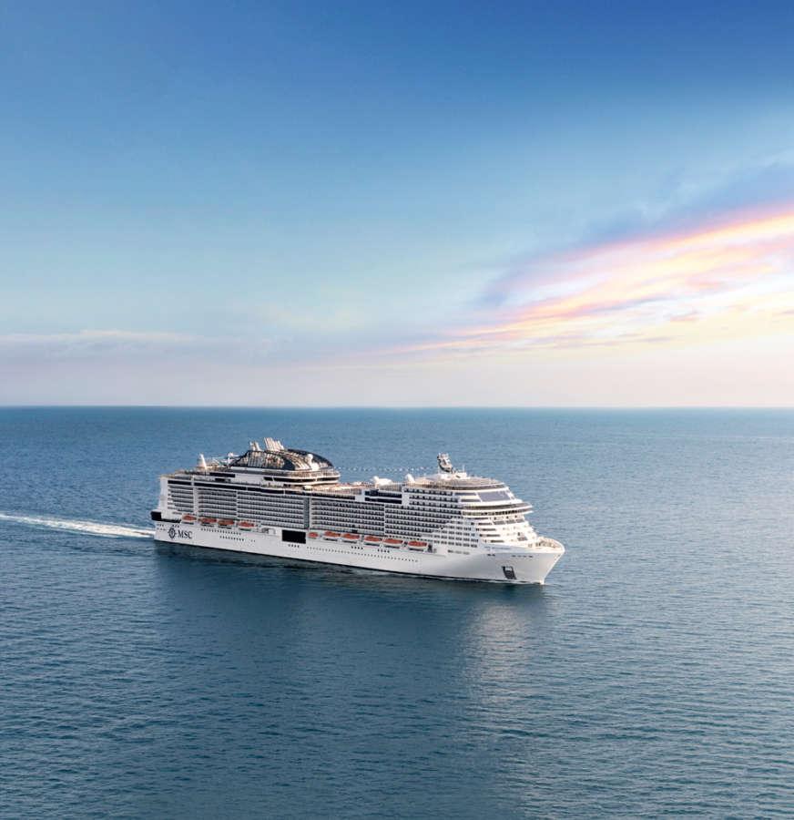 Grandiosaexterior view at sea - www.cruisescapes.ie