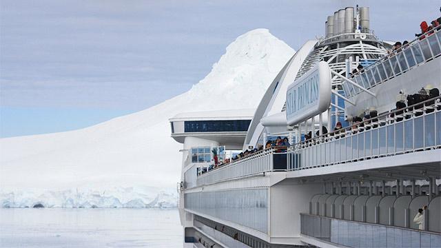 Star Princess in Antarctica